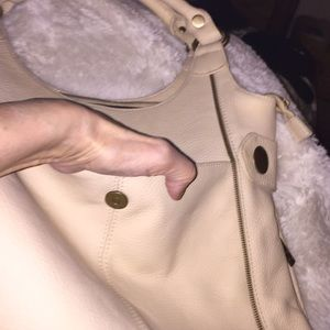 Great bag by APC  a nice cream color and size